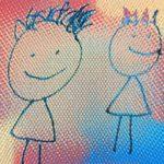 発達障害の子が書いた小学生の絵