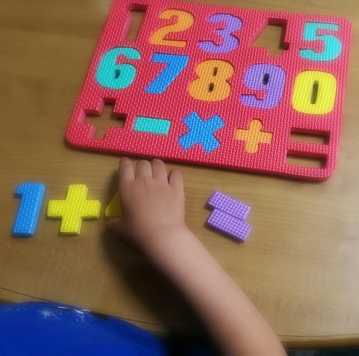 足し算のパズル