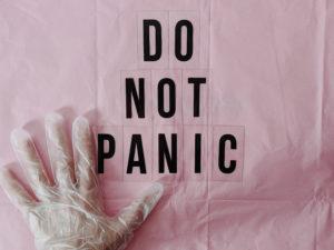 パニックを起こさない