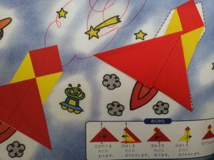 発達障害児の折り紙の作品