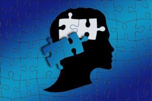 自閉症の脳のイメージ